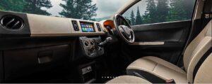 8th Generation Suzuki Alto front cabin interior view full
