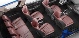 1st generation Changan A800 MPV full interior view