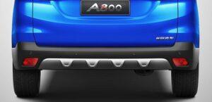 1st generation Changan A800 MPV rear view below