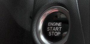 1st generation Changan A800 MPV start stop button