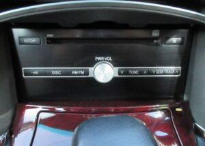 1st generation toyota mark x audio player view