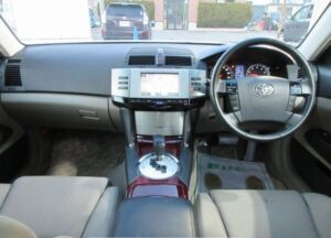 1st generation toyota mark x front cabin interior view