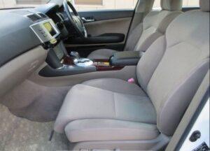 1st generation toyota mark x front seats
