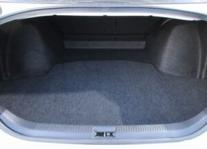 1st generation toyota mark x luggage area view