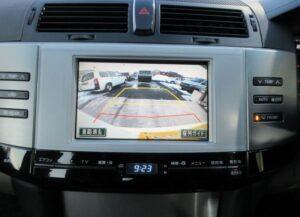1st generation toyota mark x rear camera view