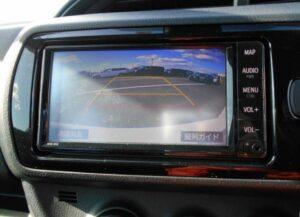 3rd Generation facelifted toyota vitz hatchback instrument cluster