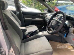 6th generation Mitsubishi Lancer sedan front seats
