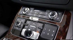 3rd generation facelift audi A8 L center console