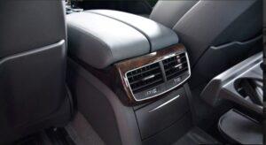 3rd generation facelift audi A8 L rear air vents