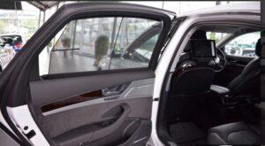 3rd generation facelift audi A8 L rear door inner view