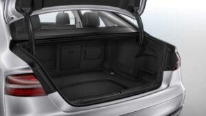 3rd generation facelift audi A8 L trunk space