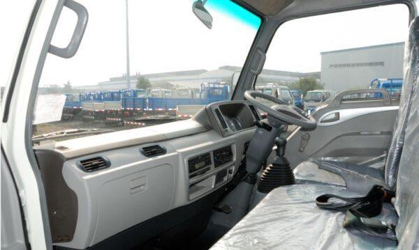 JAC HFC 1020k Medium Pickup truck front cabin interior