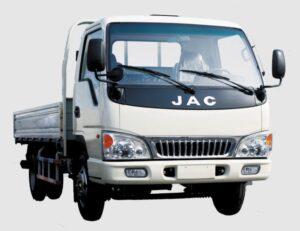 JAC HFC 1020k Medium Pickup truck front view