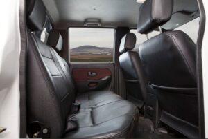 1st generation jmc new boarding pickup rear seats view