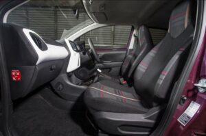 1st generation peugeot 108 hatchback front cabin full interior view