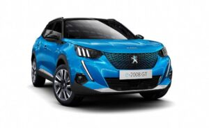 2nd Generation peugeot 2008 SUV front close view