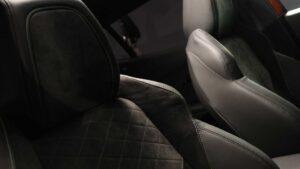 2nd Generation peugeot 2008 SUV seats view