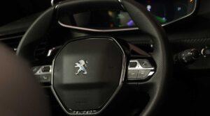 2nd Generation peugeot 2008 SUV steering wheel view