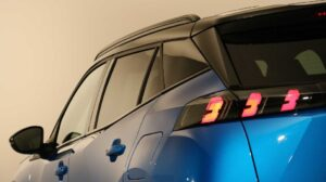 2nd Generation peugeot 2008 SUV tail lamps view