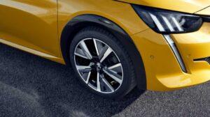 2nd generation peugeot 208 hatchback wheel view