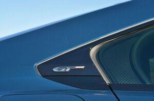 2nd generation peugeot 508 sedan GT badging