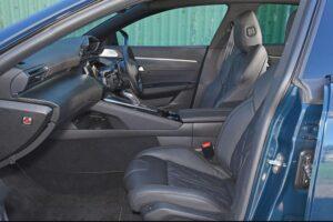 2nd generation peugeot 508 sedan front seats view