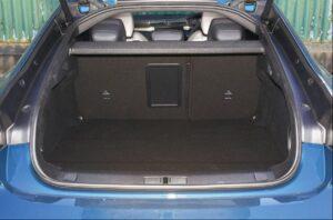 2nd generation peugeot 508 sedan luggage area view