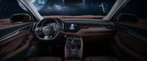 1st generation haval f7 suv front cabin interior view