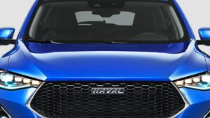 1st generation haval f7 suv front grille view