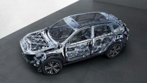 1st generation haval f7 suv high tensile steel structure