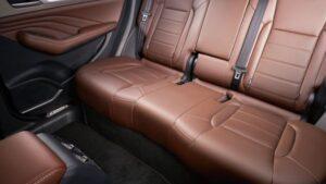 1st generation haval f7 suv rear seats view