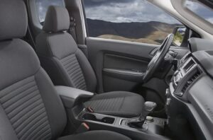 4th generation ford ranger pickup truck front seats view