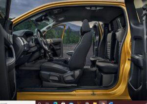 4th generation ford ranger pickup truck full inside view
