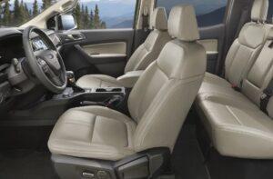 4th generation ford ranger pickup truck full interior view