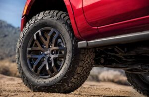 4th generation ford ranger pickup truck wheel view