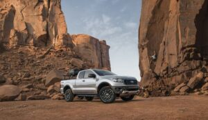 4th generation ford ranger pickup truck XLT beautiful view