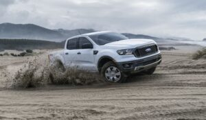 4th generation ford ranger pickup truck power display
