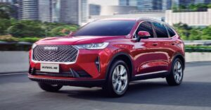 3rd generation haval h6 suv aggressive front view