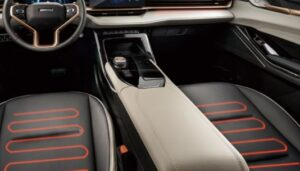3rd generation haval h6 suv front seats heating and ventilation