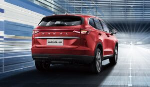 3rd generation haval h6 suv full rear view