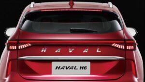 3rd generation haval h6 suv horizon rear led tailight