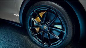 3rd generation porsche cayenne suv wheel view