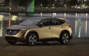 1st generation Nissan Ariya All Electric SUV full view