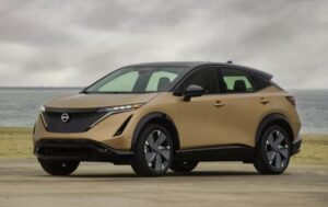 1st generation Nissan Ariya All Electric SUV good looking vehicle bookings started
