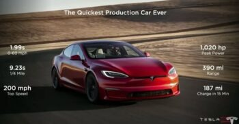 First 25 Tesla Model S Plaid Sedans Delivered to Lucky Customers
