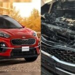 Inspection of KIA Sportage and issuance of safety warnings by Lucky Motors Pakistan