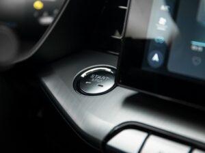 2nd generation MG5 sedan push start button