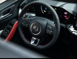 2nd generation MG5 sedan steering wheel view2