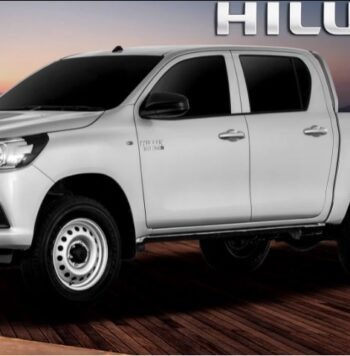 8th generation Toyota hilux E pickup truck feature image