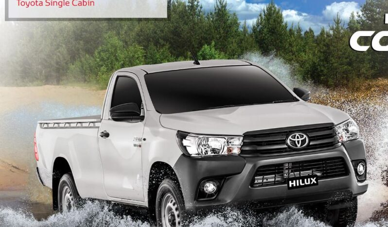 8th generation Toyota hilux single cabin feature image